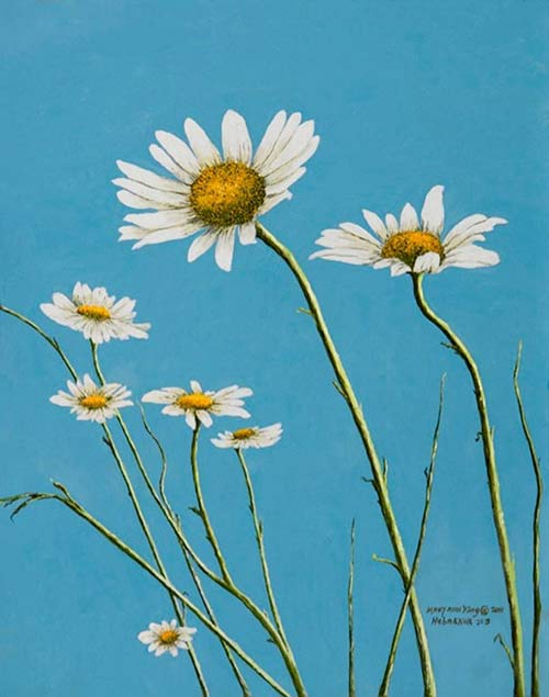 Daisies in the Wind - $225