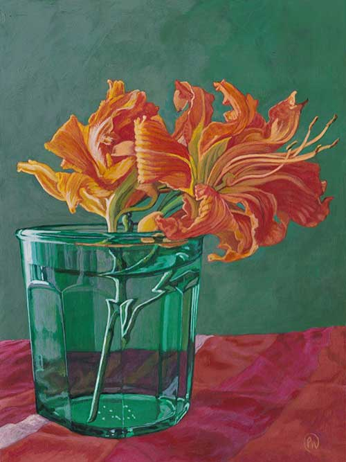 Glass of Flaming Beauty - $400
