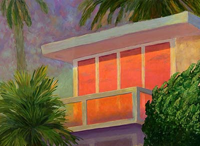 Sunset at the Beach House - $350