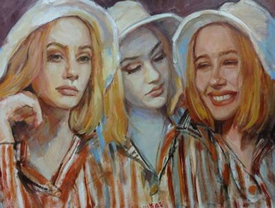 Three Faces of Holly - $1,200