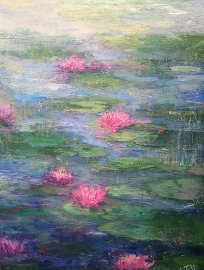 Water Lillies - $3,200