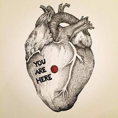 You Are Here - $75