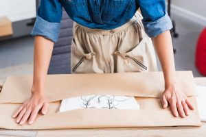 how to package your painting